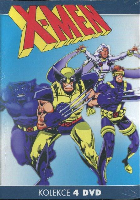 X-MEN - 1-4 - kolekce (4xDVD) (papírový obal)