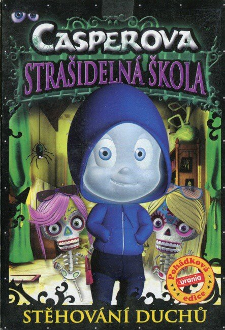 Casperova strašidelná škola - Stěhování duchů (DVD) (papírový obal)
