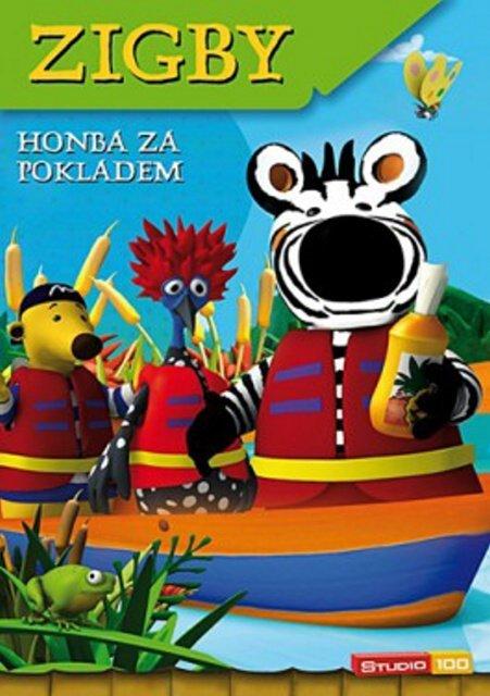 Zigby - Honba za pokladem (DVD)
