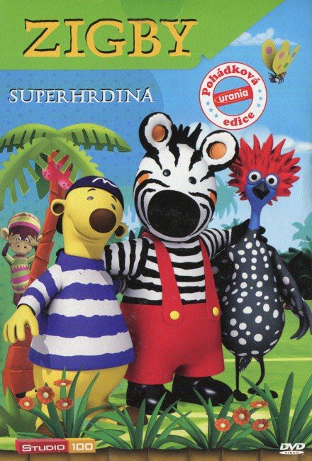 Zigby - Superhrdina (DVD) (papírový obal)