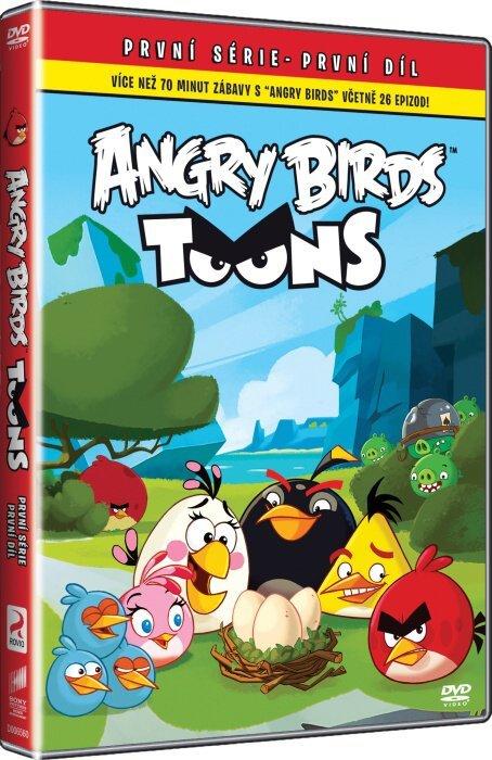 Angry Birds Toons 1. série - 01 (DVD)