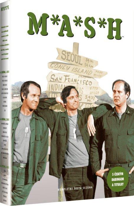 MASH - 6. sezóna (3 DVD)