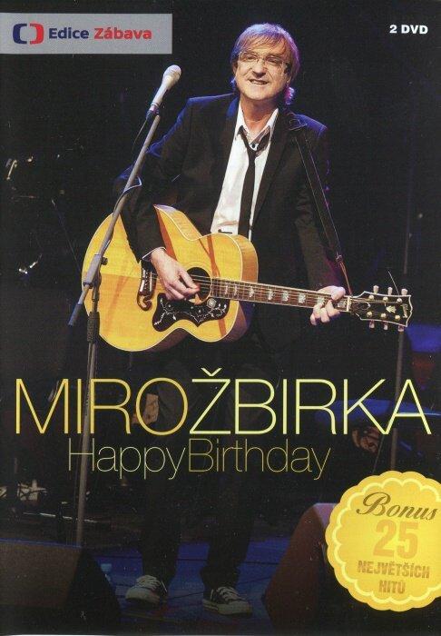 Miro Žbirka - Happy Birthday - 2xDVD (záznam koncertu)