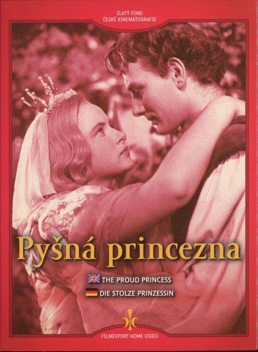 Pyšná princezna (DVD) - digipack
