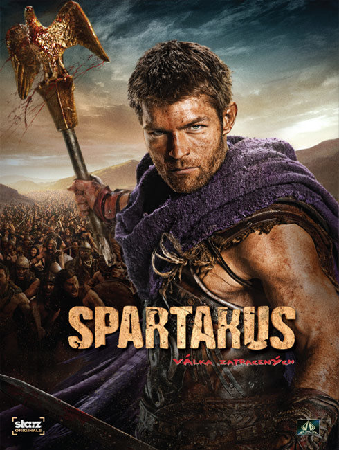 Spartakus: Válka zatracených (4 DVD) - seriál
