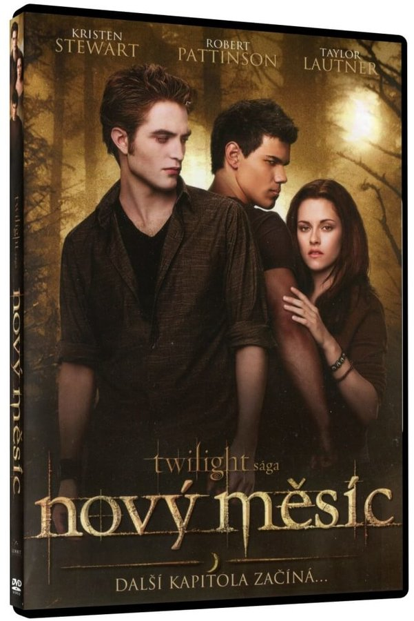 Nový měsíc: Twilight sága - 1xDVD