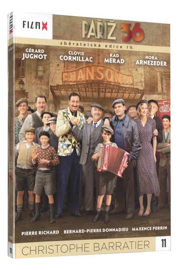Paříž 36 (DVD) - edice Film X