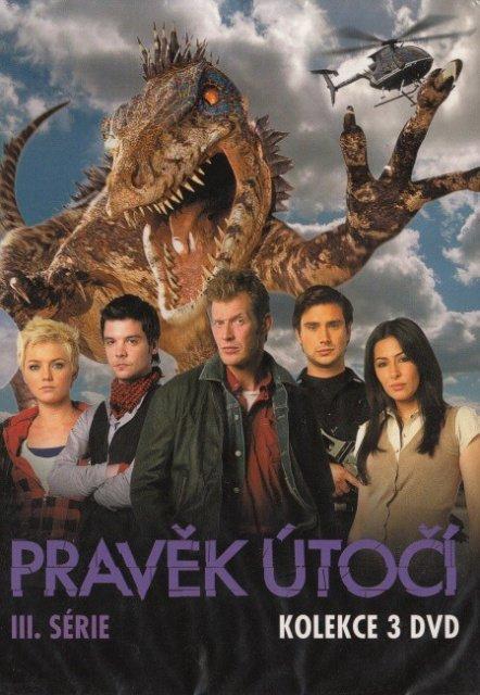 Pravěk útočí - 3. série komplet - 3 DVD
