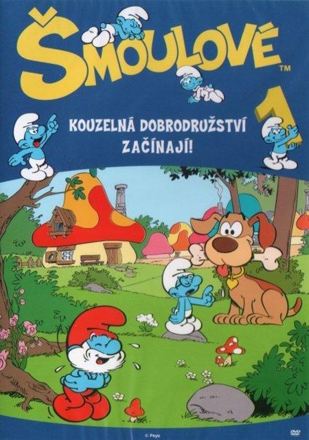 Šmoulové 01 (DVD) (5 dílů)