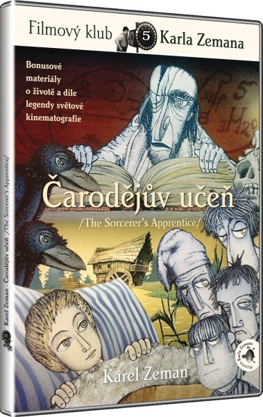 Čarodějův učeň (Karel Zeman) (DVD)