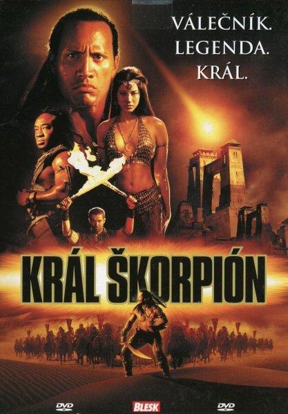 Král Škorpión (DVD) (papírový obal)