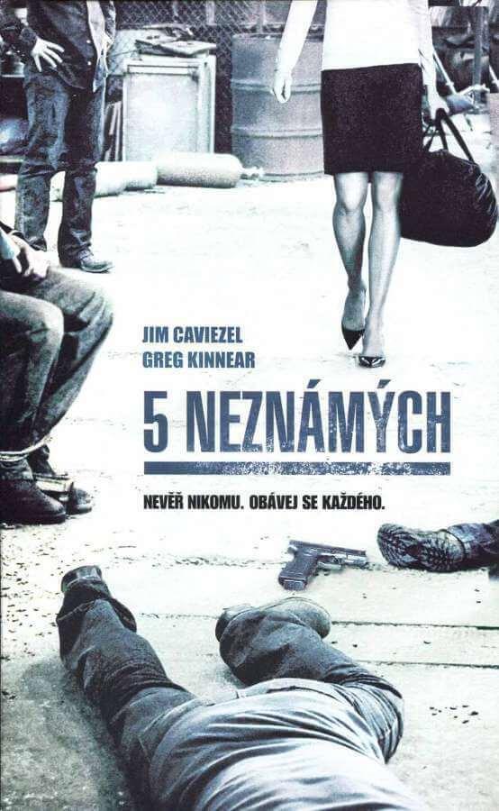 5 Neznámých (DVD) (papírový obal)