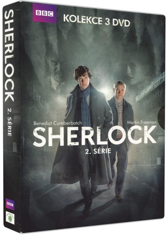 Sherlock - 2. série - 3xDVD