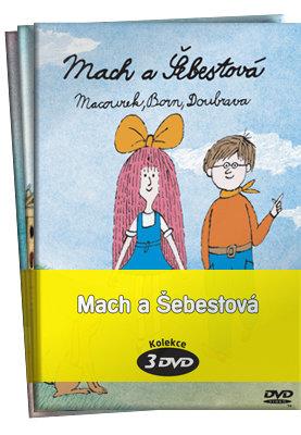 Mach a Šebestová - kolekce - 1+2+3 (3xDVD) (papírový obal)