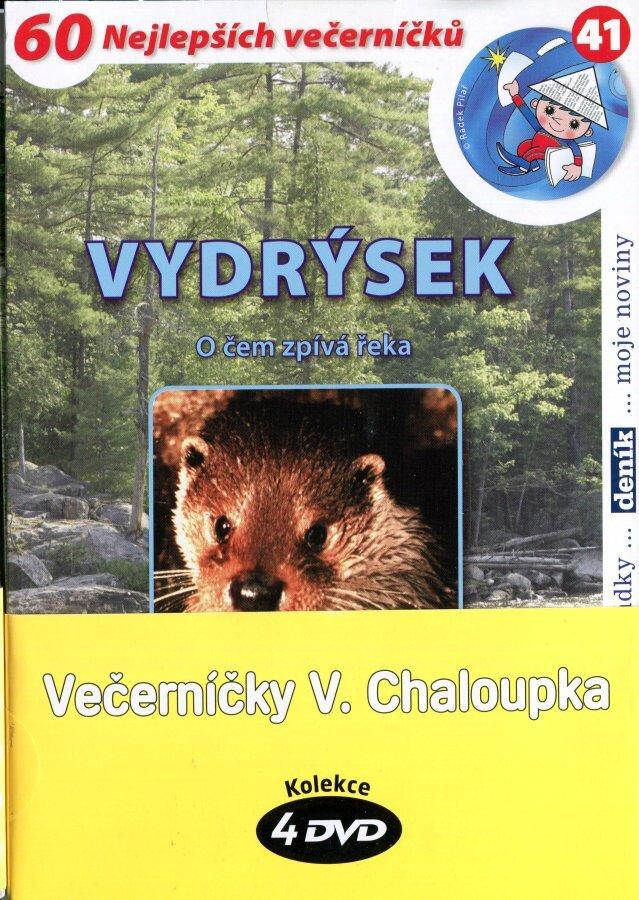 Večerníčky Václava Chaloupka (4 DVD) (papírový obal)