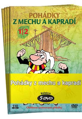 Pohádky z mechu a kapradí 1-6 - kolekce (5xDVD) (papírový obal)