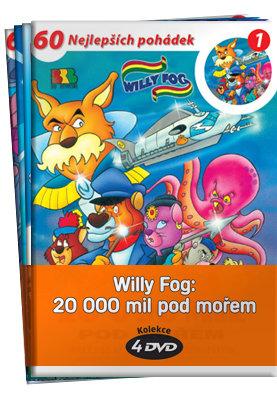 Willy Fog: 20 000 mil pod mořem - kolekce (4xDVD) (papírový obal)
