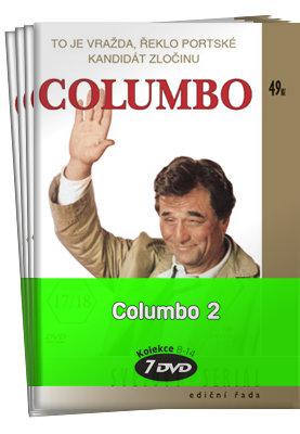 Columbo 2 (epizody 13-26 - kolekce (7xDVD) (papírový obal)