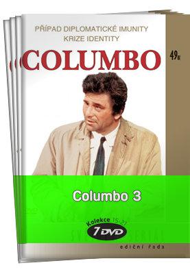 Columbo 3 (epizody 27-40) - kolekce (7xDVD) (papírový obal)