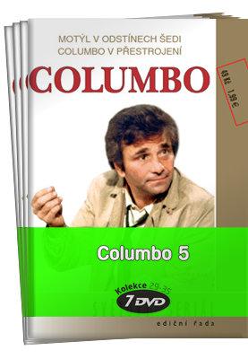 Columbo 5 (epizody 55-67) - kolekce (7xDVD) (papírový obal)