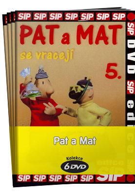 Pat a Mat 1-6 - kolekce (6xDVD) (papírový obal)