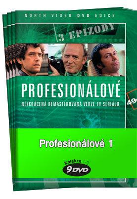 Profesionálové 1 (DVD 1-9) - kolekce (9xDVD) (papírový obal)