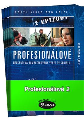 Profesionálové 2 (DVD 10-18) - kolekce (9xDVD) (papírový obal)