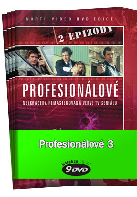 Profesionálové 3 (DVD 19-27) - kolekce (9xDVD) (papírový obal)