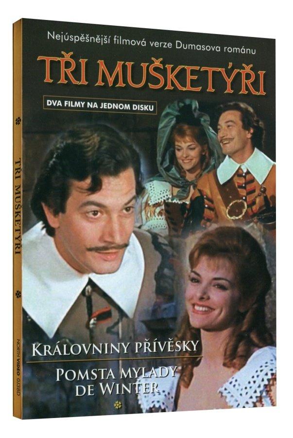 Tři mušketýři (Královniny přívěsky, Pomsta MyLady De Winter) (DVD)