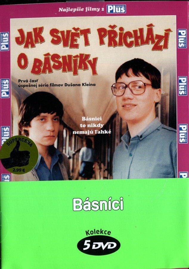 Básníci - kolekce (5 DVD) (papírový obal)