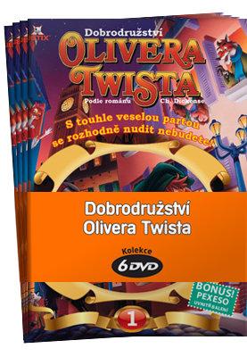 Dobrodružství Olivera Twista - kolekce (6xDVD) (papírový obal)