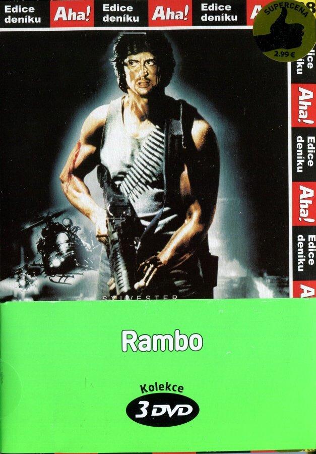 Rambo - kolekce (3xDVD) (papírový obal)
