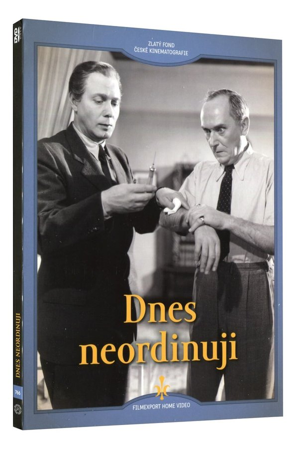 Dnes neordinuji (DVD) - digipack