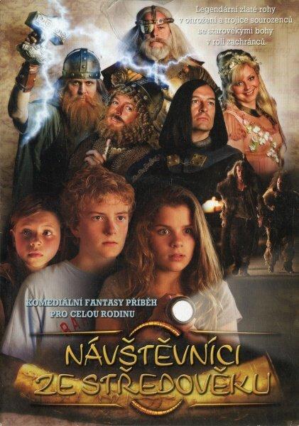 Návštěvníci ze středověku (DVD) (papírový obal)