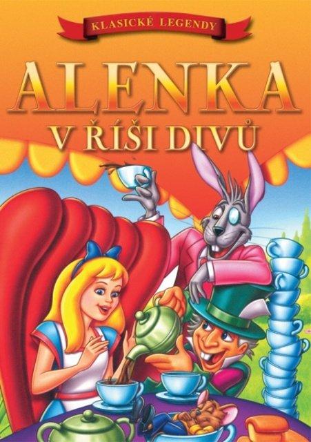 Alenka v říši divů (animovaný) (DVD) (papírový obal) - Klasické legendy
