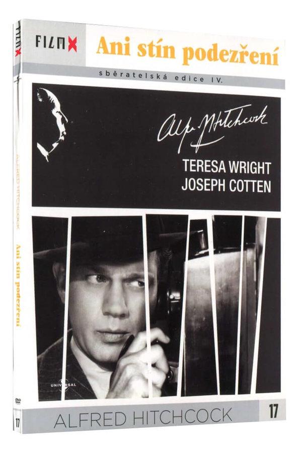 Ani stín podezření (Alfred Hitchcock) (DVD) - edice Film X
