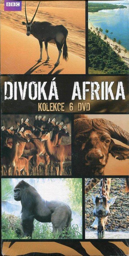 Divoká Afrika kolekce - BBC - 6xDVD (papírový obal)