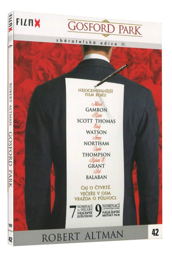 Gosford Park (DVD) - edice Film X