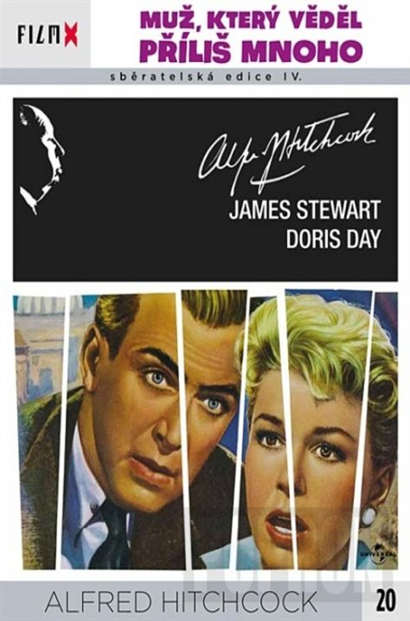 Muž, který věděl příliš mnoho (Alfred Hitchcock) (DVD) - edice Film X