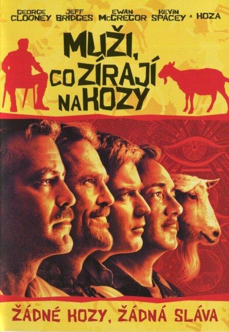Muži co zírají na kozy (DVD)