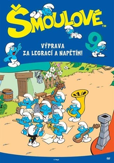 Šmoulové 09 (DVD) (5 dílů)