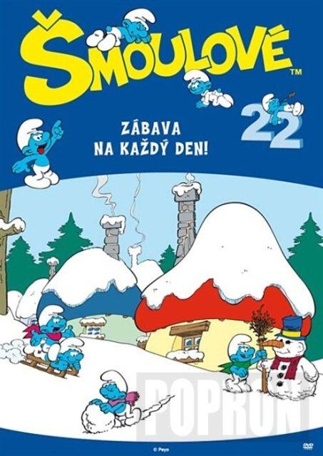 Šmoulové 22 (DVD) (4 díly)