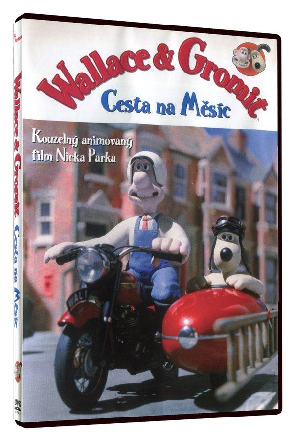 Wallace & Gromit - Cesta na měsíc (DVD)
