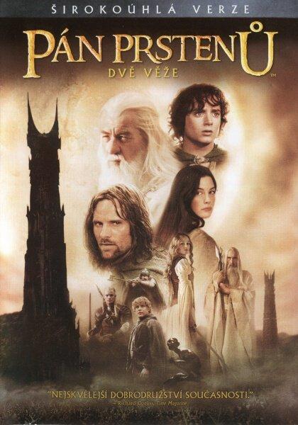 Pán prstenů: Dvě věže 1xDVD - kino verze