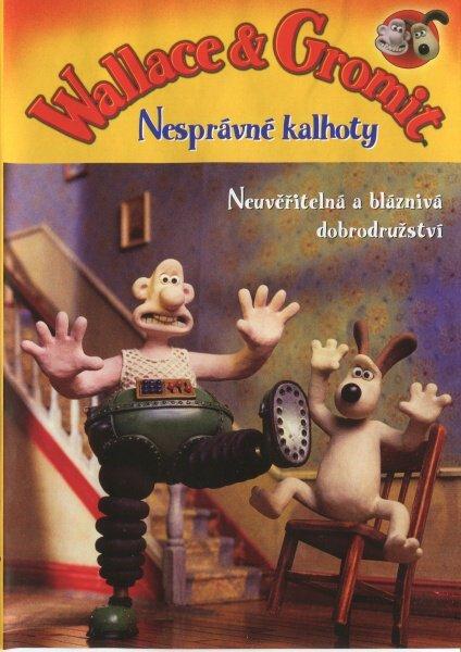 Wallace & Gromit - Nesprávné kalhoty (DVD)
