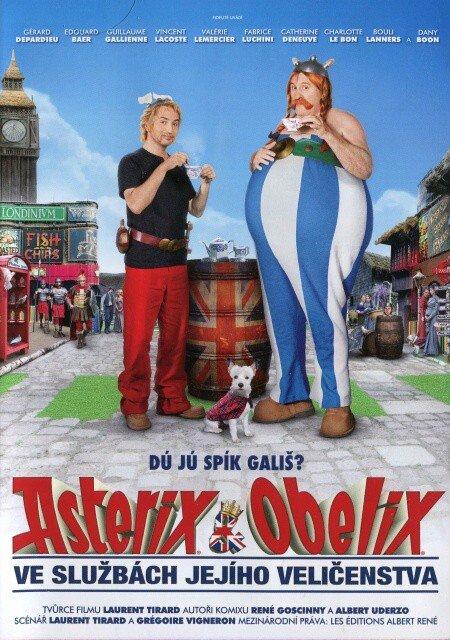 Asterix a Obelix ve službách jejího veličenstva (DVD)