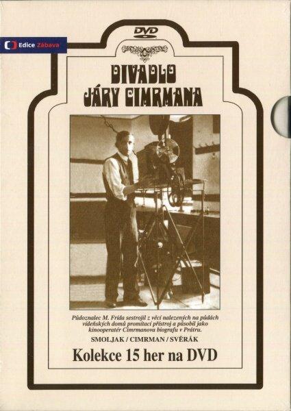 15DVD Jara Cimrman kompletní kolekce