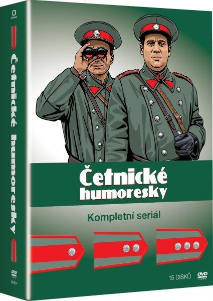 Četnické humoresky 1.-3. série - kompletní TV seriál (15xDVD)