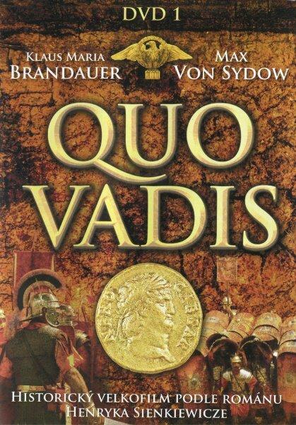 Quo Vadis (Max Von Sydow) - DVD 1 (1.-2. díl)