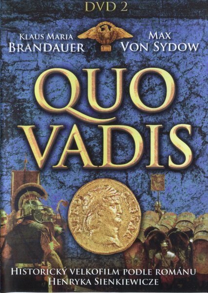 Quo Vadis (Max Von Sydow) - DVD 2 (3.-4. díl)